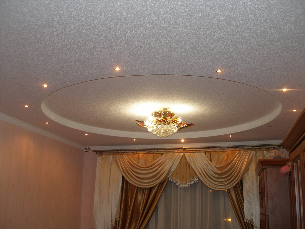 гипсокартонный потолок картинки: