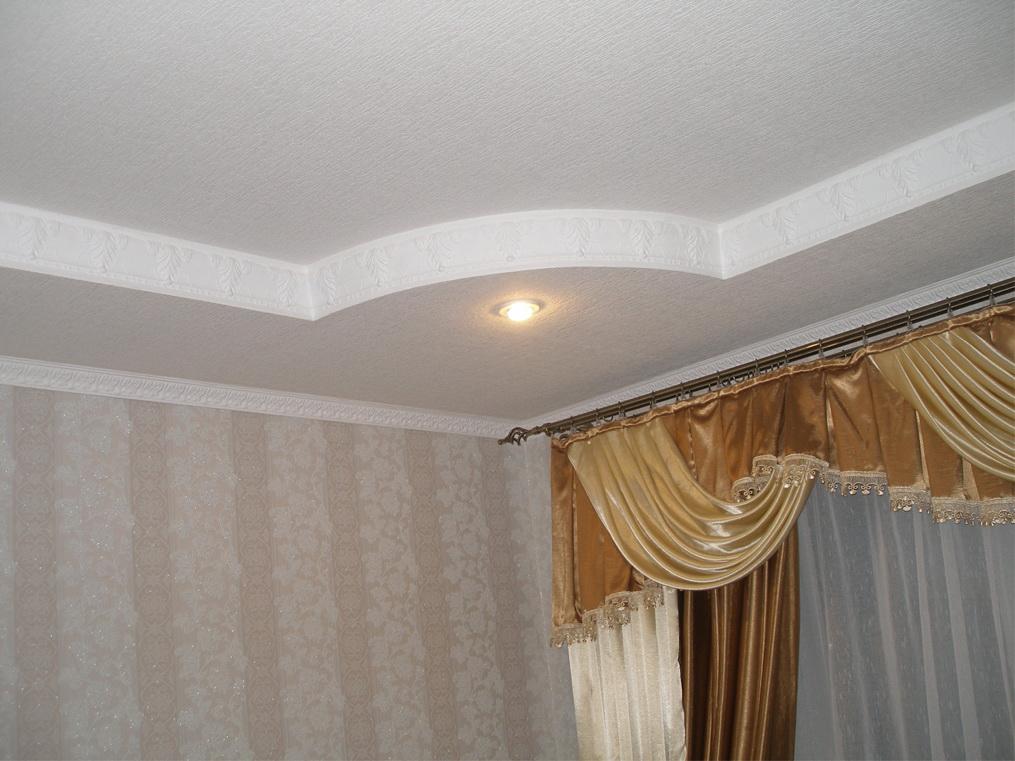 Двухуровневый потолок с гипсокартона. своими руками фото